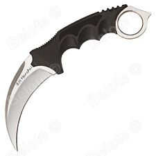 "United Cutlery Honshu Kerambit Satin With Shoulder Harness 8.75"" Overall, UC2977"