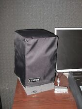 Custom non-padded cover (pair) w/ rear cut & easy cable access for JBL LSR 305