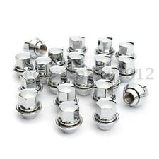 Set of 20 Thread M12x1.5 19mm Hex OE Style Alloy Wheel Nuts Lugs Bolts For Ford