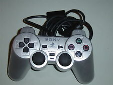 PlayStation 2-original Sony ps2 Controller top * * plata Silver