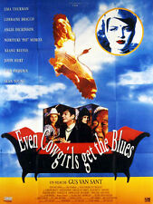 Affiche 120x160cm EVEN COWGIRLS GET THE BLUES 1993 Van Sant - Uma Thurman NEUVE