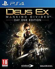 DEUS EX diviso l'umanità | PLAYSTATION 4 ps4