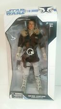 """STAR WARS HAN SOLO HOTH ULTIMATE 18"""" Action Figure WITH STAND & SOUNDS NEW"""