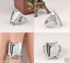 SHINGEKI NO KYOJIN COSPLAY ATTACK ON TITAN Investigation Corps ANELLO RING NUOVO