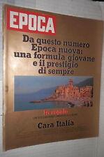 EPOCA 5 ottobre 1974 Leone Sequestro Panattoni Gonzaga Churchill Stunt cars di e