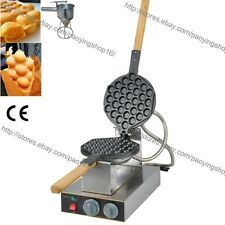 Commercial Nonstick Electric Eggettes Egg Puff Bubble Waffle QQ Egg waffle Maker