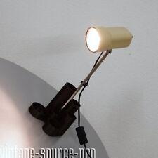 alte Chrom Stab Lampe Tischleuchte Bürolampe Utensilo Vintage 60er 70er Jahre