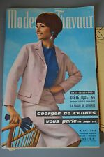 MODES ET TRAVAUX AVRIL 1966 couture tricot broderie N°784 PAGE POUPEES