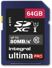 64GB Memory Card for Panasonic HC-V250EB HC-V550CT Camcorder 64GIG SDXC Class 10