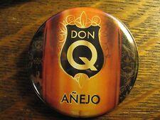 Don Q Pocket Mirror - Repurposed Puerto Rico Rum Magazine Ad Lipstick Mirror