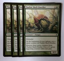 MtG : 4x Thallid Shell-Dweller ! Time Spiral ! engl. NM