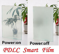 210x297mm A4 Translucent To White Smart PDLC Switchable Glass Film With Cable
