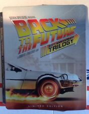 Back to the Future: 30th Anniversary Trilogy Blu-Ray Steelbook Thirtieth Target