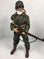 1/6 21ST CENTURY US 101ST AIRBORNE PARATROOPER GARAND LOADED DRAGON BBI DID WW2