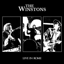 THE WINSTONS Live in Rome CD+DVD Italian Prog Beat Pop