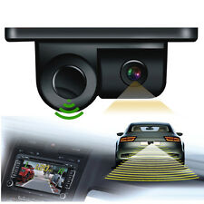 2in1 Car SUV Reverse Parking Radar Rear View Backup 120 Degree Wide Angle Camera