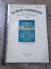 la petite illustration 637 Le locataire du 3ème sur la cour 1933  RARE