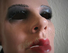 DIVA MARILYN MASK +LASHES - Real. Female Latex Frauenmaske Crossdresser Rubber