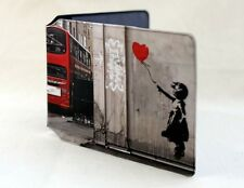 Banksy Ballon Girl With Bus Oyster Card Holder