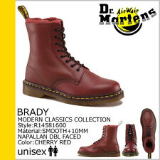 Dr. Martens Men Brady 1460 Shearling Winter Boot Red US 10 EU 43 UK 9 Ret. $285