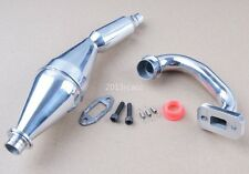15003 Aluminum Exhaust Pipe HSP Part For RC FG 1:5 Monster Truck