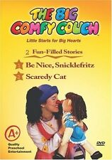 The Big Comfy Couch - Be Nice, Snicklefritz/Scaredy Cat (DVD)