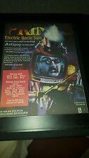 Primus Electric Uncle Sam Rare Original Radio Promo Poster Ad Framed!