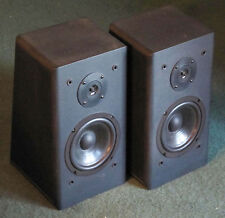 Rare Vintage Hitachi HSA-W40 2-Way Wedge Sequential Bookshelf Speakers