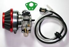 Carburetor And Air Filter Kit With Fuel Line 43cc 49cc Pocket Bike, Boreem. USA