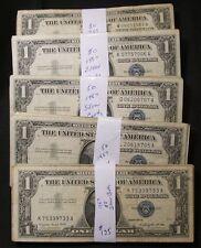 50~1957 $1 Silver Certificates ~G-Fine