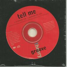 Amel Larrieux GROOVE THEORY Tell me w/ INSTRUMENTAL 1995 CD single SEALED USA