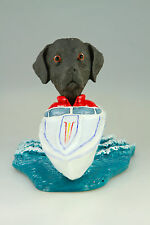 MOTOR BOAT CHOCOLATE LAB INTERCHANGABLE BODY SEE BREED & BODIES @ EBAY STORE