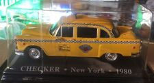 "DIE CAST "" CHECKER NEW YORK - 1980 "" 1/43 TAXI SCALA 1/43"