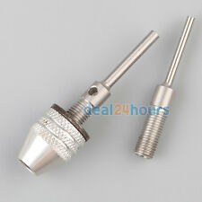 Mini Electric Grinder Keyless Drill Chuck 0.3-4mm With 2.3&3mm Shaft