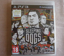 Sleeping Dogs Eccellente 1a Stampa Italiana con manuale Ps3