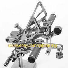 CNC Rear Sets Foot Pegs For Yamaha YZF-R6 2006-2013 2007 2008 2009 2010 2011 12