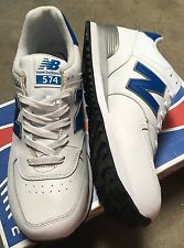 New Balance NB574ALD White Blue SIZE 11 NEW WITH BOX