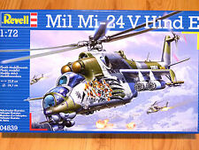 Revell 1:72 Mil Mi-24 V Hind E Helicopter Model Kit