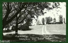 VINTAGE GIRL SCOUT - RPPC CAMP  POSTCARD - CAMP GREENWOOD - FREE SHIPPIING