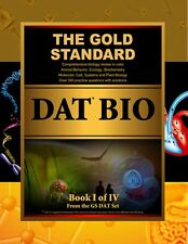 Gold Standard DAT Exam Biology Prep/Science Review Book (Dental Admission Test)