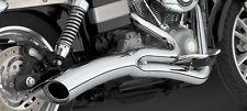 Vance & Hines Big Rayon 2 - 1 Chrome, pour Harley - Davidson Dyna 2006 - 2014