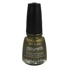 80601 China Glaze Nail Polish Magnetix Cling On magnet not included  0.5floz