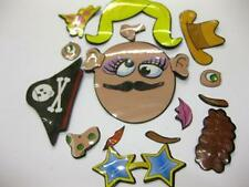 20 x CRAZY FACE MAGNETS CHILDS TOY PARTY BAGS PINATA WHOLESALE JOB LOT £ SHOP