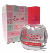 Avon SWEET Scents Yummy FRAGOLA EAU DE TOILETTE SPRAY PROFUMO BAMBINI 30ml