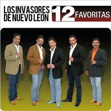 12 Favoritas by Los Invasores de Nuevo Le¢n (CD, Apr-2014, EMI Latin)