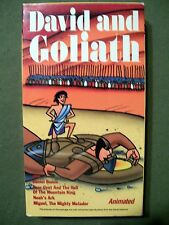 David and Goliath (1994, VHS, Animated)
