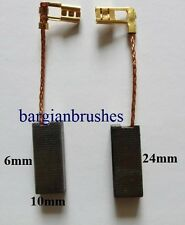 CARBON BRUSHES for flymo compact 330 lawn mower machine vision ug 360  D94/B