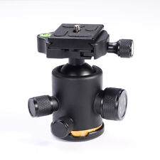 12Kg Swivel Tripod Ball Head+Quick Release Plate for DSLR CAM Photo Video Studio