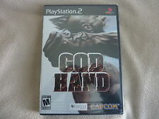 NEW God Hand (Sony PlayStation 2, PS2, 2006) Factory Sealed FREE US SHIPPING!!!
