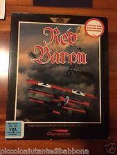 Red Baron Dynamix Sierra PC Game MS DOS